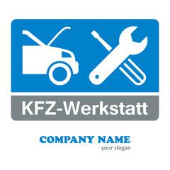 KFZ-Werkstatt - Firmenlogo
