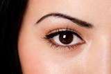 Eyebrow and eye poster