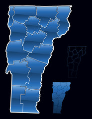 Counties of Vermont