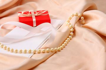 Gift on silk