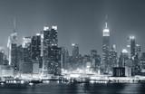 Fototapeta miejski - noc - Budynek