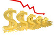 Доллар тает