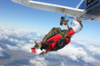 Skydiver jumps from an airplane - 39117408