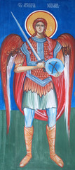 Frescoe of Archangel Michael