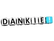 The word Dankie - Thank you in many different languages.