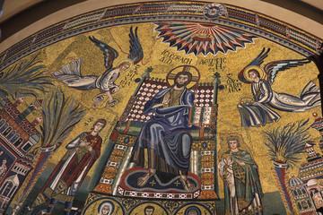 Jesus Christ mosaic - Basilica San Ambrosio, Milan