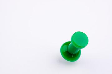green push pin