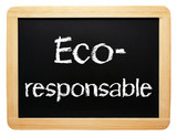 Eco-responsable poster