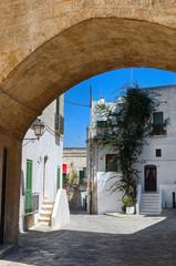 Alleyway. Oria. Puglia. Italy.