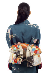 Back View Kimono