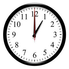 Horloge - 1 heure