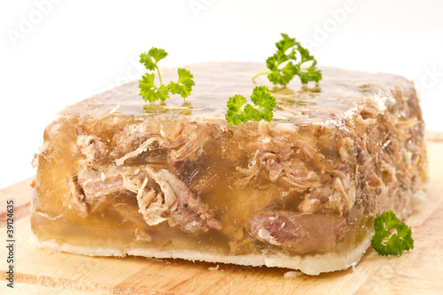 meat in aspic