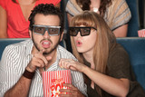 Couple Captivated by 3D Movie poster