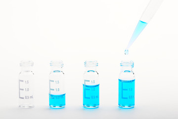 Chemical research - sample preparation