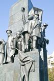 Monument to Taras Shevchenko, the fragment poster