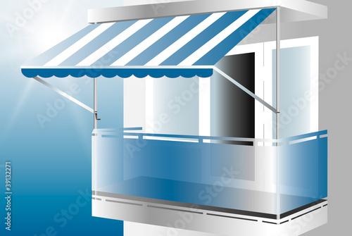 klemmmarkise stockfotos und lizenzfreie vektoren auf bild 39132271. Black Bedroom Furniture Sets. Home Design Ideas