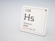 Hassium - element of the periodic table