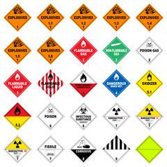 icon set dangerous good II