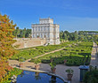 villa pamphili e giardino all'italiana a roma in italia