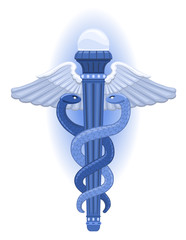 The Caduceus - Greek Symbol  of God of Commerce, Hermes