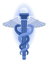 The Caduceus - Greek Symbol  of God of Commerce, Hermes