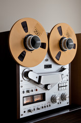 Analog Stereo Open Reel Tape Deck Recorder