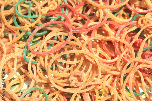 elastic band Multicolored