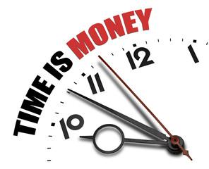 Austere time is money concept