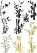 Fototapeten,blatt,bambus,vektor,dekoration