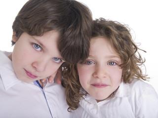 Coppia di bambini