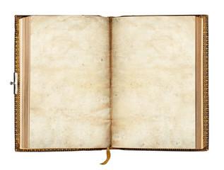 altes Buch, aufgeschlagen