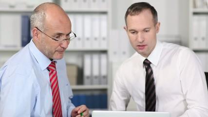 teamwork am laptop