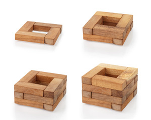 Wooden blocks 7