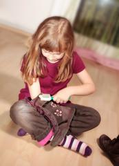Schuhe putzen :-)