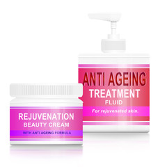 Anti ageing products.