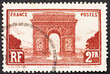 Postage stamp France 1931 Arc de Triomphe, Paris