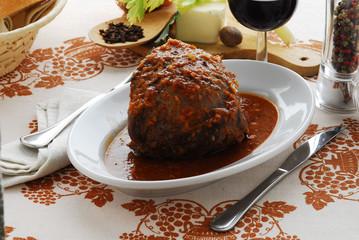 Beef stew 炖牛肉 Stufato di manzo
