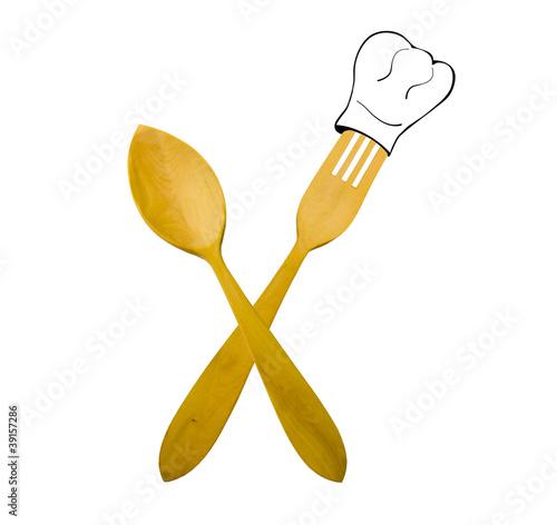 Gorros y cucharas
