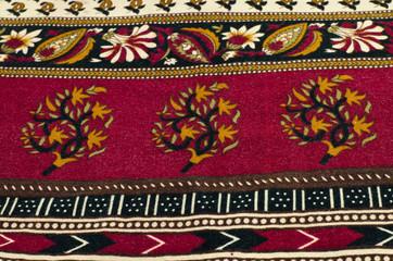 Texture of thai fabric
