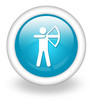 "Light Blue Icon ""Archery"""