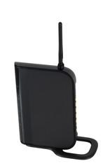 Wi-fi modem with antenna