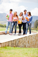 Group of students outdoors