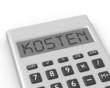 Taschenrechner Kosten