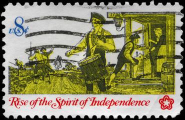 USA - CIRCA 1973 Drummer