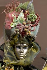 maschera carnevale viso colore