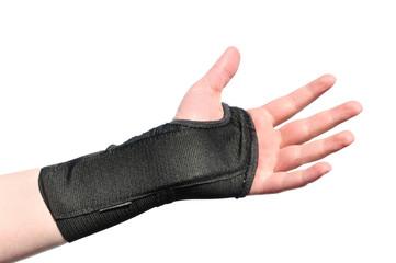 Black Wrist Brace