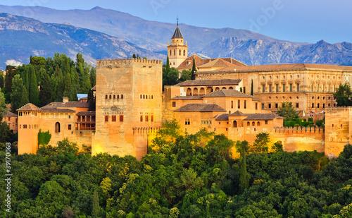 Pałac Alhambra, Granada, Hiszpania