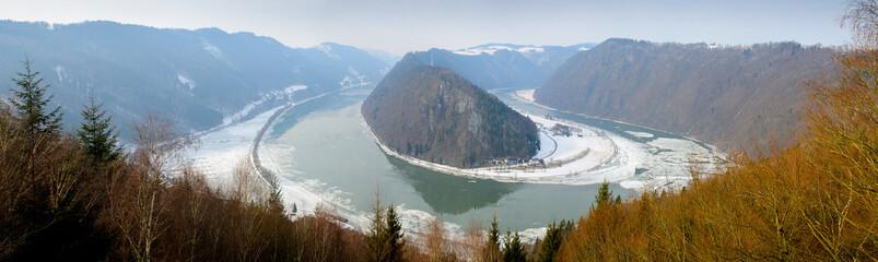 Donaulandschaft Schlögener Schlinge
