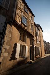 Rue médiévale à Poitiers