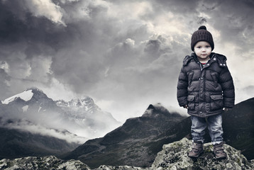 Young Mountain Climber